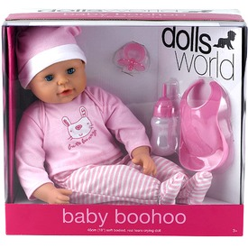 Baby BooHoo játékbaba kiegészítőkkel - 46 cm