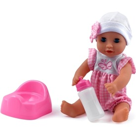 Baby Dribbles pisilő baba kiegészítőkkel - 30 cm Itt egy ajánlat található, a bővebben gombra kattintva, további információkat talál a termékről.