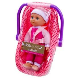 Isabella alvó baba babahordozóval - 30 cm Itt egy ajánlat található, a bővebben gombra kattintva, további információkat talál a termékről.