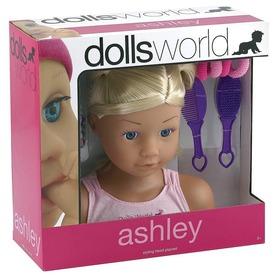 Ashley fésülhető babafej kiegészítőkkel Itt egy ajánlat található, a bővebben gombra kattintva, további információkat talál a termékről.