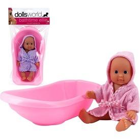 Ellie fürdethető baba káddal - 18 cm, többféle Itt egy ajánlat található, a bővebben gombra kattintva, további információkat talál a termékről.