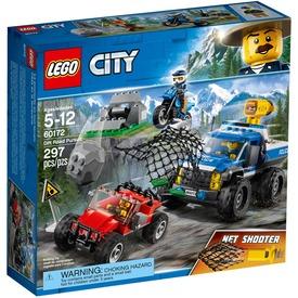 LEGO® City Üldözés a földúton 60172