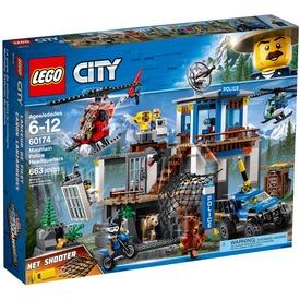 LEGO® City Police Hegyi Rendőrkapitányság 60174