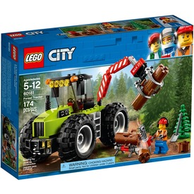 LEGO City Great Vehicles 60181 Erdei Traktor