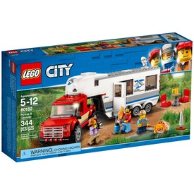 LEGO City Great Vehicles 60182 Furgon és lakókocsi