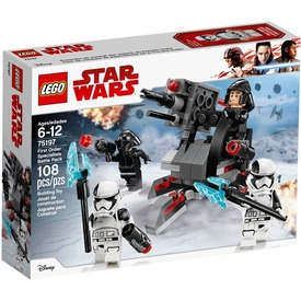 LEGO Star Wars TM 75197 Első rendi szakértők harci csomag Itt egy ajánlat található, a bővebben gombra kattintva, további információkat talál a termékről.