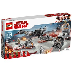 LEGO® Star Wars TM 75202 Crait™ védelme Itt egy ajánlat található, a bővebben gombra kattintva, további információkat talál a termékről.