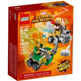LEGO® Super Heroes Thor és Loki 76091
