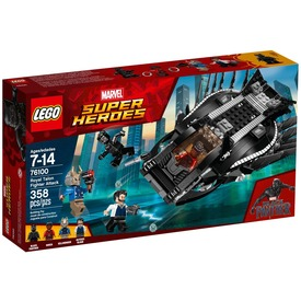 LEGO® Super Heroes Fekete Párduc járműve 76100 Itt egy ajánlat található, a bővebben gombra kattintva, további információkat talál a termékről.