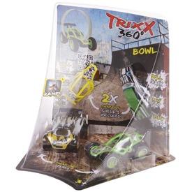 Trixx 360 autó 2 darabos, rámpával - többféle