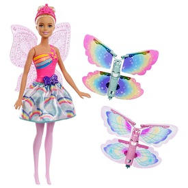 Barbie: Dreamtopia pillangó tündér baba - 29 cm