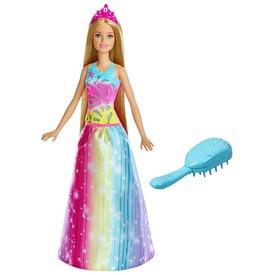 Barbie Dreamtopia hercegnő fésűvel - 29 cm