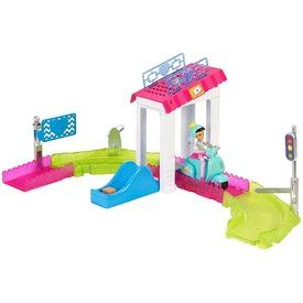 Barbie: On the Go baba autós készlet - többféle