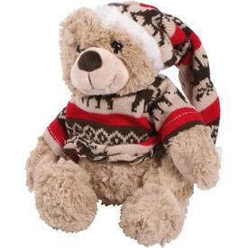 Maci plüssfigura karácsonyi sapkában és pulcsiban - 23 cm Itt egy ajánlat található, a bővebben gombra kattintva, további információkat talál a termékről.