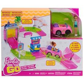 Barbie: On the Go autómosó készlet