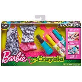 Barbie: Crayola ruhaszínező ruha - többféle