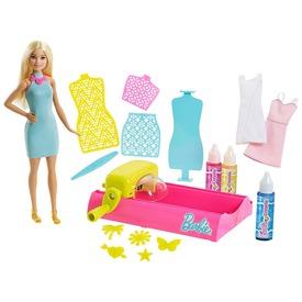Barbie: Crayola ruhaszínező baba készlet - 29 cm