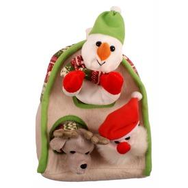 Karácsonyi plüss házikó ujjbábokkal - 25 cm Itt egy ajánlat található, a bővebben gombra kattintva, további információkat talál a termékről.