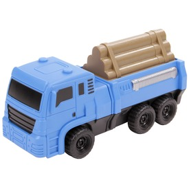 Szétszedhető teherautó - kék, 22 cm