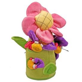 Virág plüssházikó bogarakkal - 51 cm