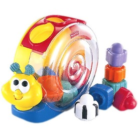 Fisher-Price zenélő csigabiga
