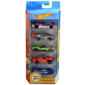 Hot Wheels 50. szülinapi autó 5 darabos készlet