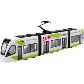 City Express városi villamos - zöld