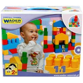 Wader 33 darabos közepes építőkocka készlet Itt egy ajánlat található, a bővebben gombra kattintva, további információkat talál a termékről.