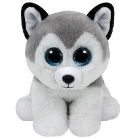 Beanie Babies BUFF husky plüss 15 cm