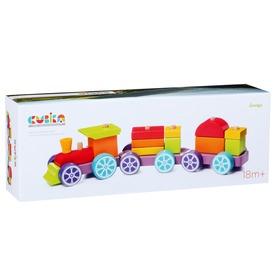 Fa vonat 15 darabos készlet