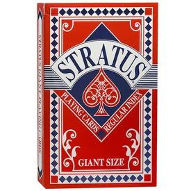 Stratus römi kártya 55 lapos készlet - kék