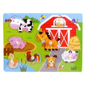 Fa bébi puzzle - többféle
