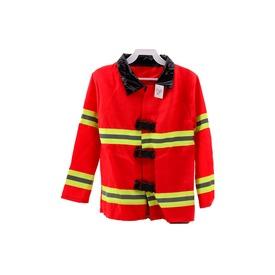 Tűzoltó kabát láthatósági csíkkal