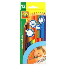 SES színes ceruza 12 darabos készlet