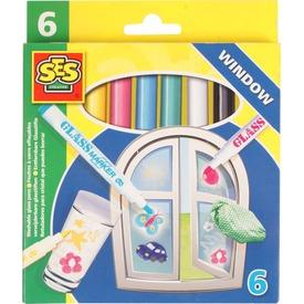 Lemosható üvegfestő filctoll 6 darabos készlet Itt egy ajánlat található, a bővebben gombra kattintva, további információkat talál a termékről.