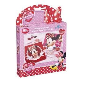 Minnie üdvözlőkártya készítő szett Itt egy ajánlat található, a bővebben gombra kattintva, további információkat talál a termékről.
