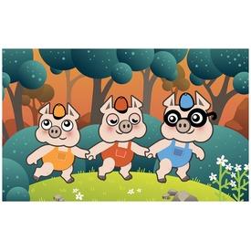 A három kismalac diafilm 34103933