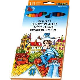 Mártott színes ceruza - 12 darabos készlet