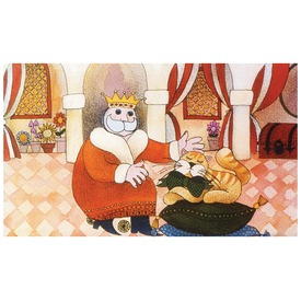 A király macskája diafilm 34104145