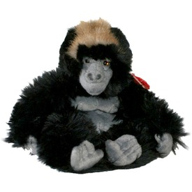 Gorilla plüssfigura - 20 cm