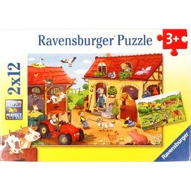 Tanyasi élet 2 x 12 darabos puzzle Itt egy ajánlat található, a bővebben gombra kattintva, további információkat talál a termékről.