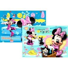 Minnie egér 2 x 24 darabos puzzle