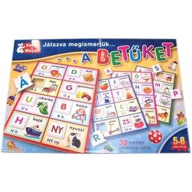 Játszva megismerjük a betűket társasjáték Itt egy ajánlat található, a bővebben gombra kattintva, további információkat talál a termékről.