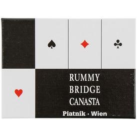 Bécsi standard 2 x 55 lapos römikártya