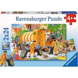 Kukásautó 2 x 24 darabos puzzle Itt egy ajánlat található, a bővebben gombra kattintva, további információkat talál a termékről.