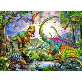 Dinoszaurusz 200 darabos XXL puzzle