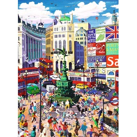 Piccadilly Circus 200 darabos XXL puzzle