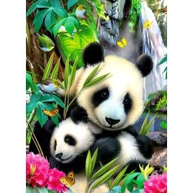 Panda 300 darabos puzzle
