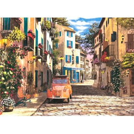 Dél-francia kisváros 500 darabos puzzle