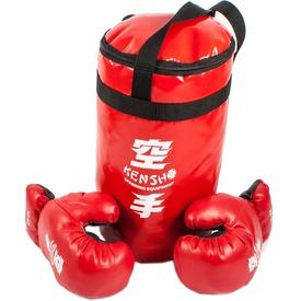 Gyerek boksz készlet kesztyűvel - 8-10 méret
